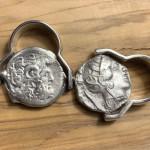 ROTATING ANCIENT COIN RINGS
